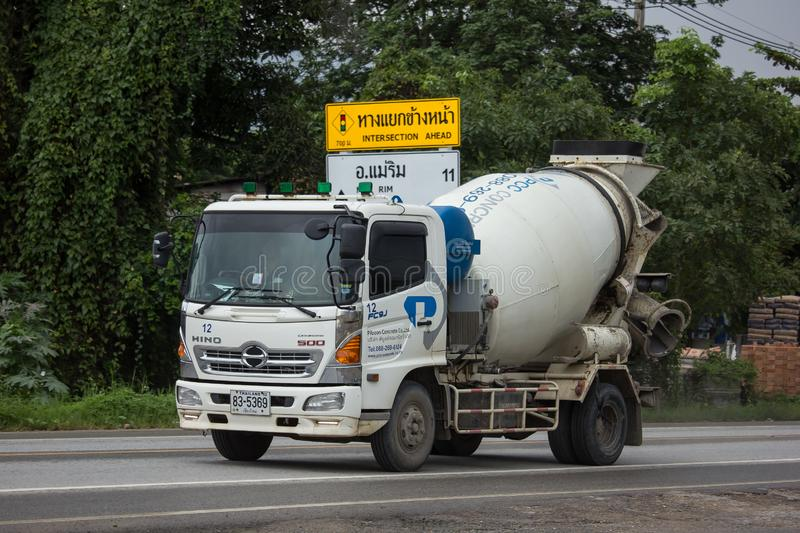 Cement truck of Phiboon Concrete royalty free stock images