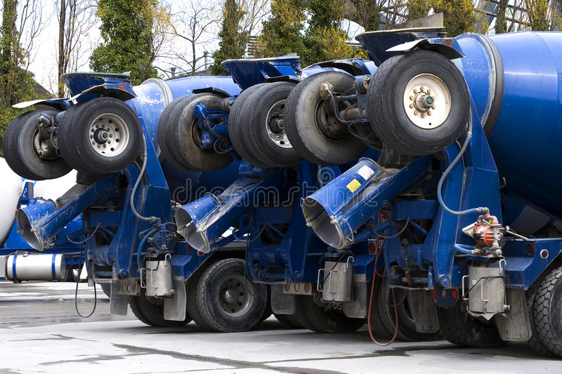 Download Cement Trucks Stock Photo - Image: 2314140