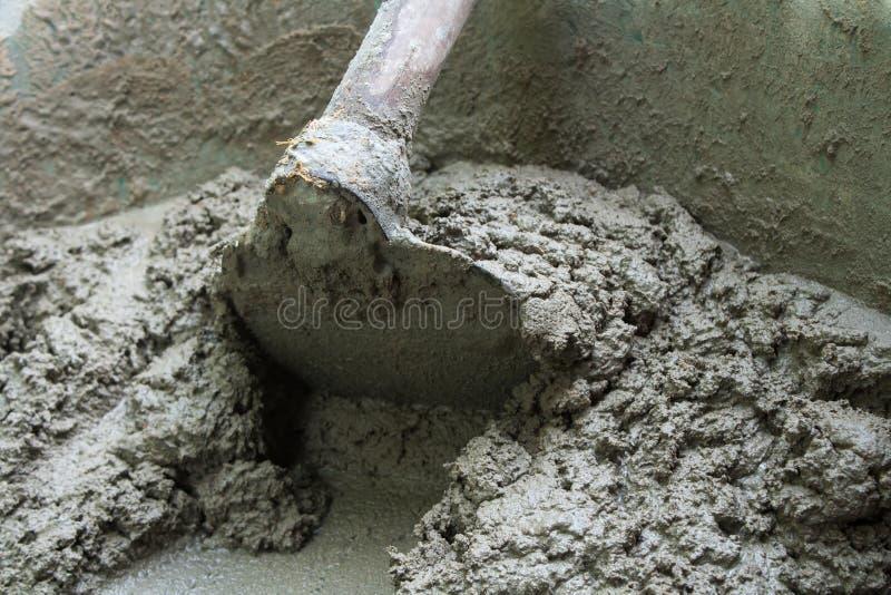 Cement voor bouwmateriaal stock afbeeldingen