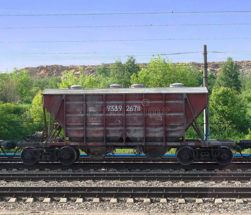 Cement wagon 1 royalty free stock photo