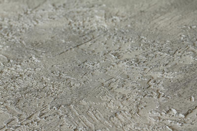 Cement wall of gray background & texture Close-up. View at an stock image