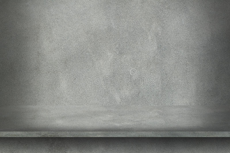 Cement wall with shelf for pattern. It is cement wall with shelf for pattern royalty free stock images