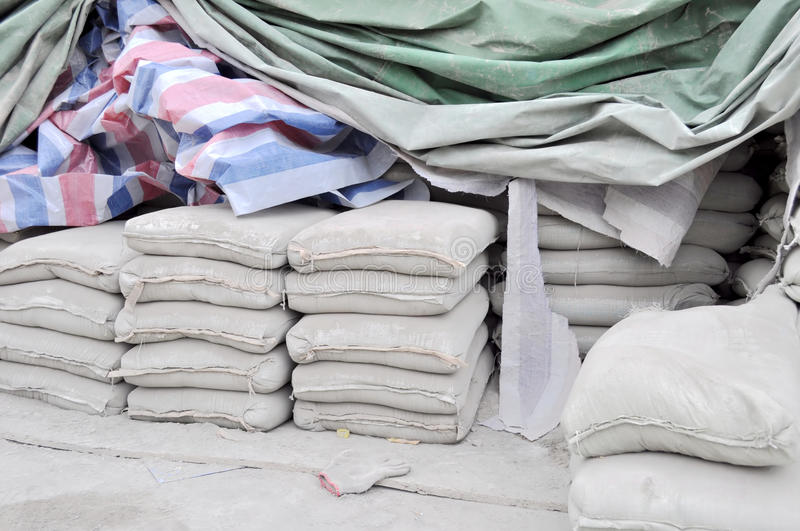 Download Cement warehouse stock photo. Image of waterproof, fabric - 18698758
