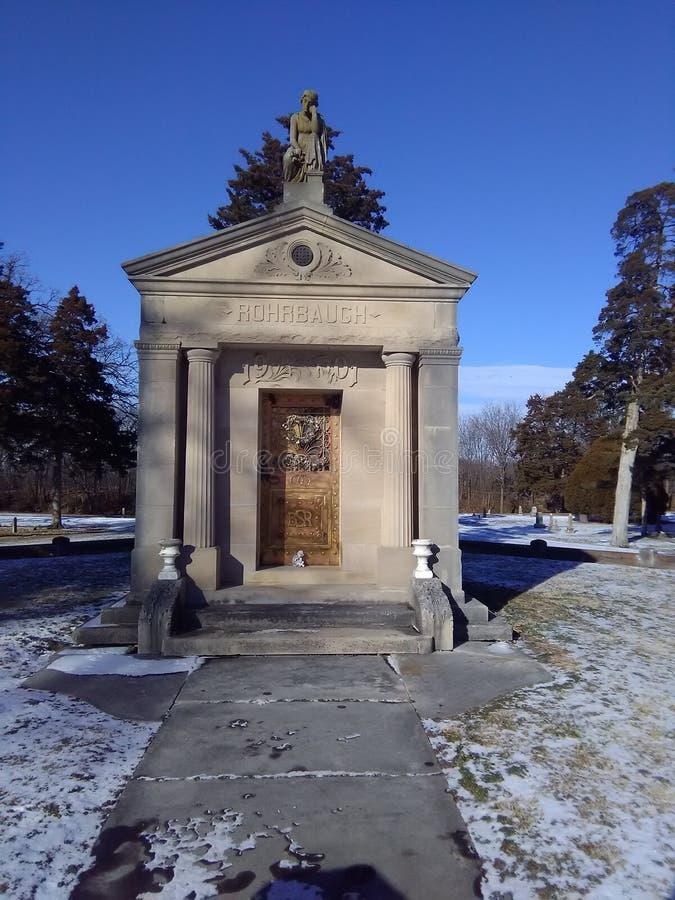 Cementary royaltyfri fotografi