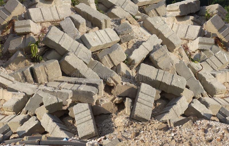 Cementbaksteen stock afbeeldingen