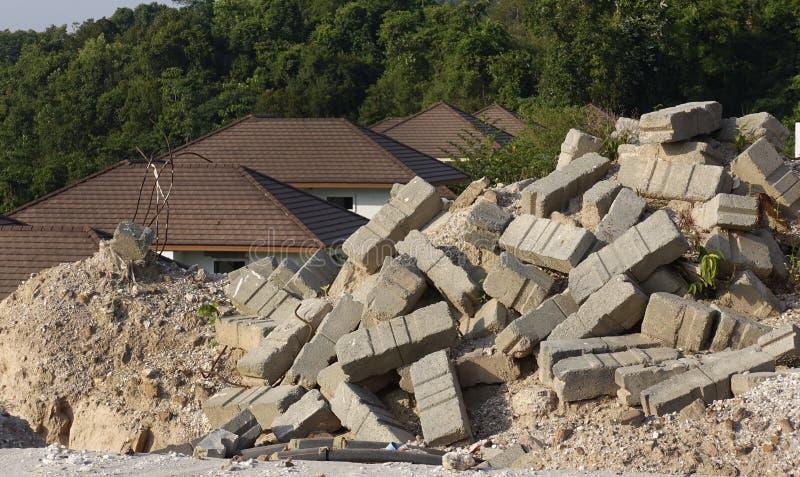 Cementbaksteen stock fotografie