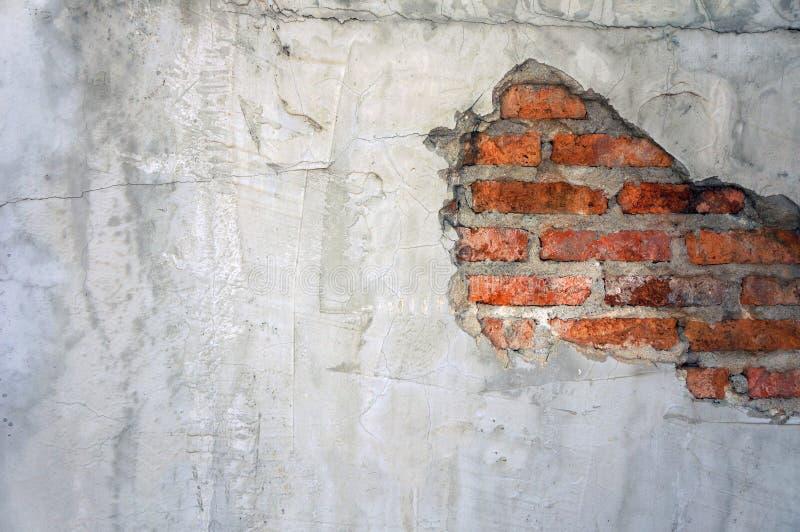 cementera textur, väggar för röd tegelsten, idéer för vindstildesign arkivfoto