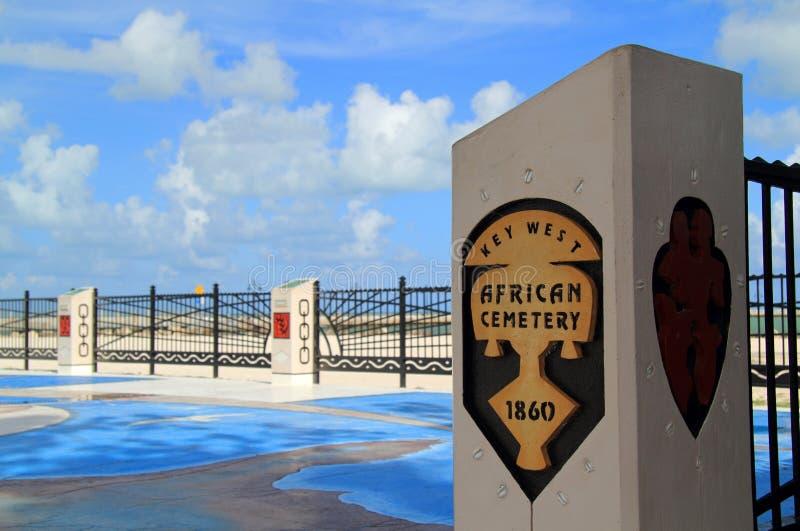 Cementerio africano en la playa de Higgs foto de archivo