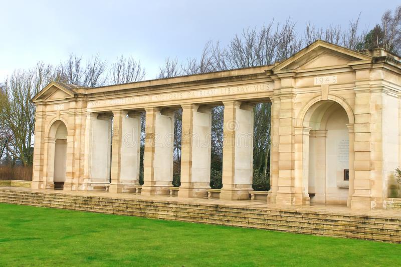 Cementerio de la guerra de Bayeux. Normandía imágenes de archivo libres de regalías