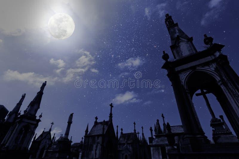 Cementerio de la Luna Llena libre illustration