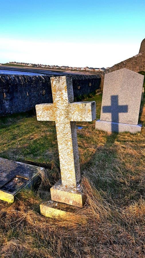 Cementerio de la sombra imágenes de archivo libres de regalías