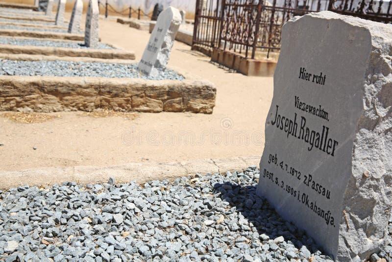 Cementerio de los sepulcros de la guerra fotografía de archivo