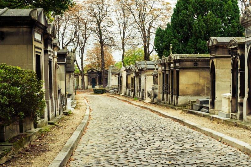 Cementerio de Pere-lachaise imágenes de archivo libres de regalías