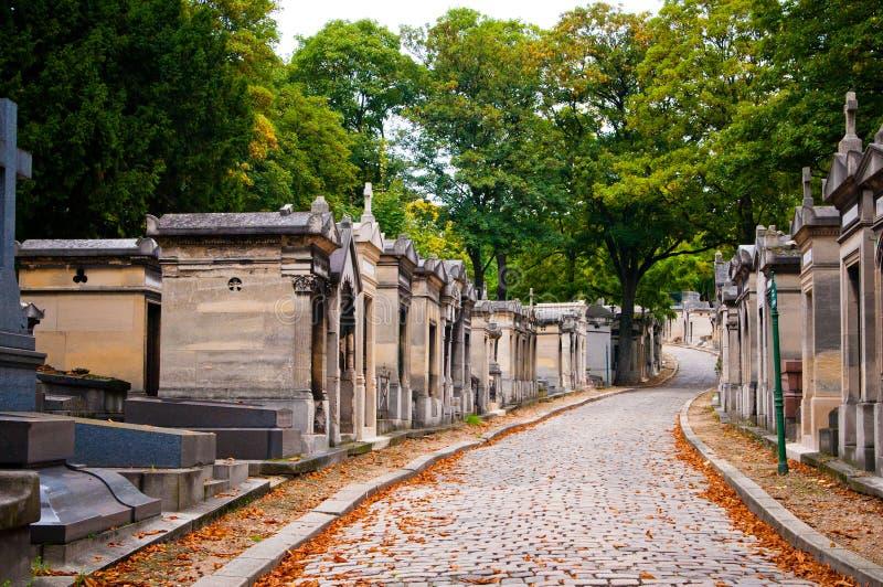 Cementerio de Pere-lachaise, París, foto de archivo libre de regalías