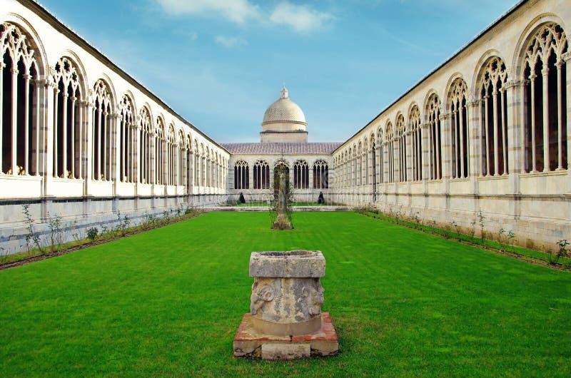 Cementerio de Pisa fotografía de archivo