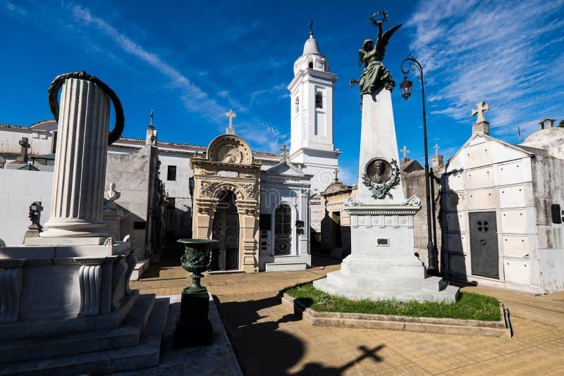 Cementerio de Recoleta, Buenos Aires fotografía de archivo