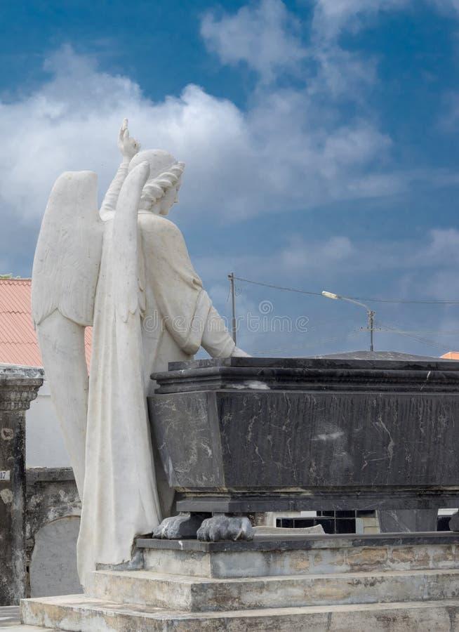 Cementerio de Scharloo imagen de archivo libre de regalías