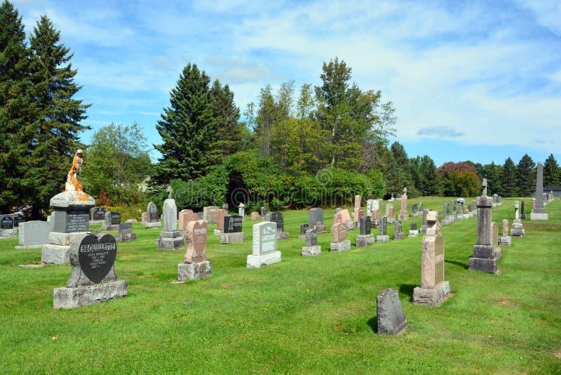Cementerio de Waterloo imagen de archivo libre de regalías