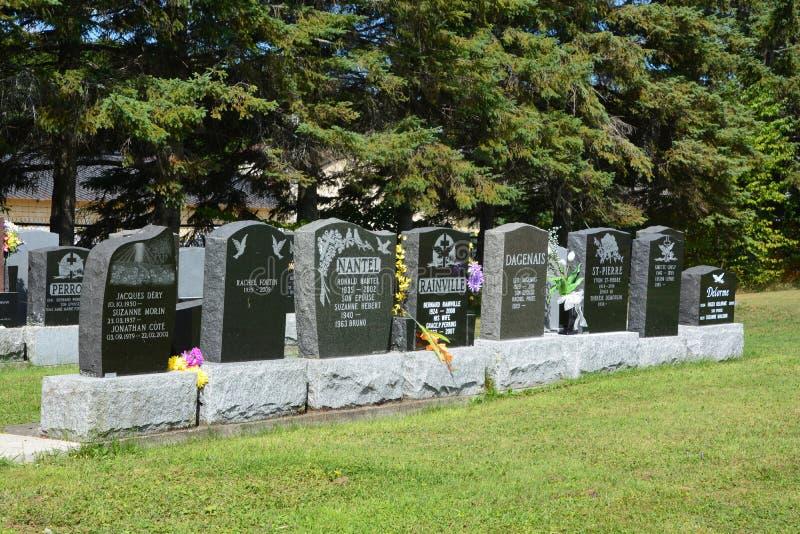 Cementerio de Waterloo imagenes de archivo
