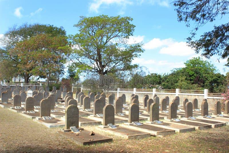 Cementerio del judío, San Martín, Mauricio fotos de archivo
