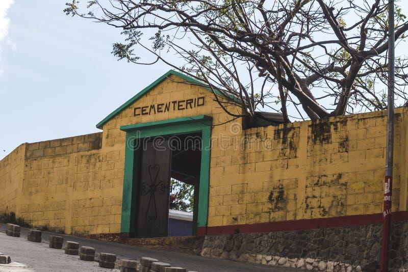 Cementerio en Guatemala fotografía de archivo libre de regalías