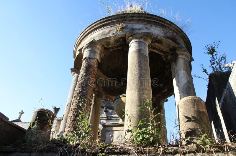 Cementerio histórico viejo Recoleta. Buenos Aires, la Argentina. fotos de archivo