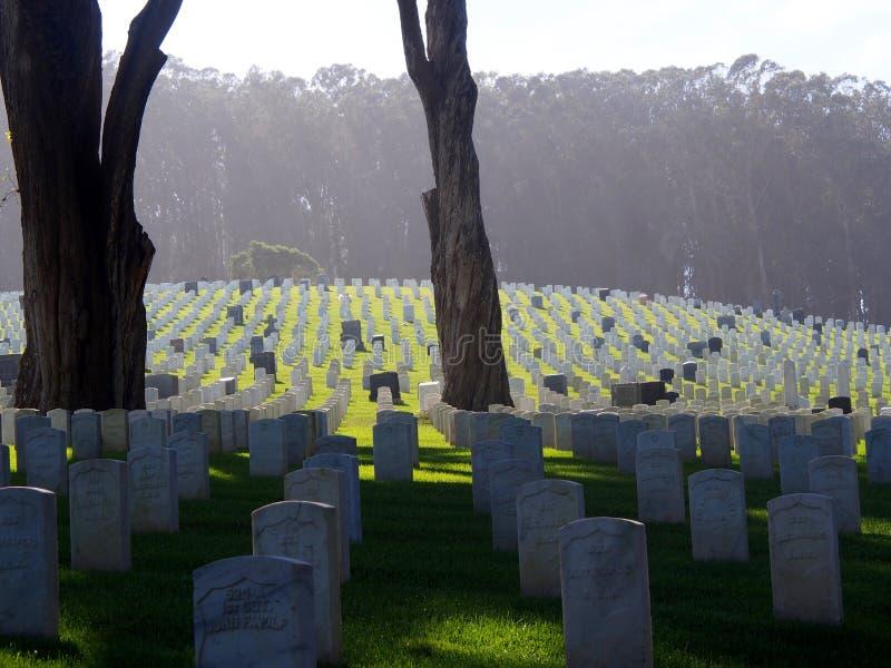 Cementerio histórico de la unión, San Francisco fotos de archivo