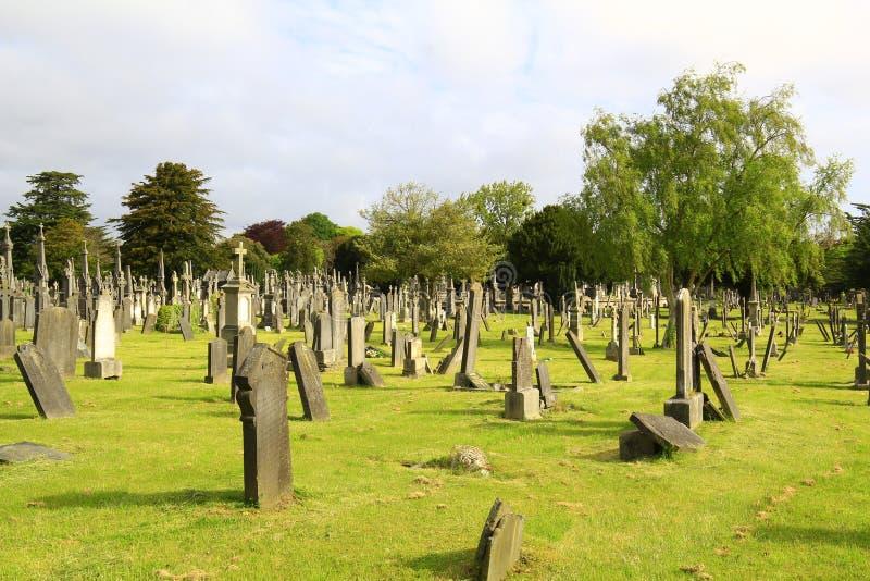 Cementerio irlandés antiguo imagenes de archivo