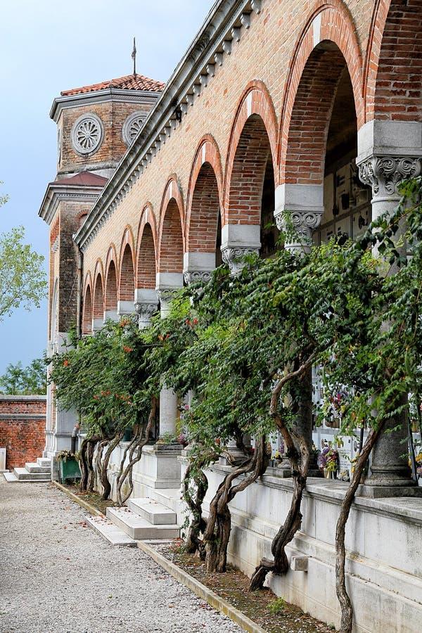 Cementerio italiano antiguo fotos de archivo