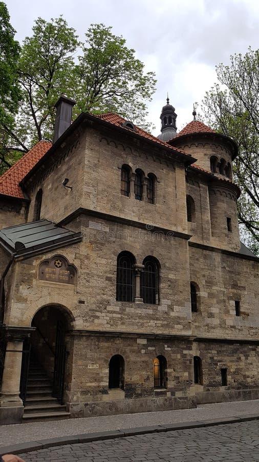 Cementerio judío en Praga imagen de archivo