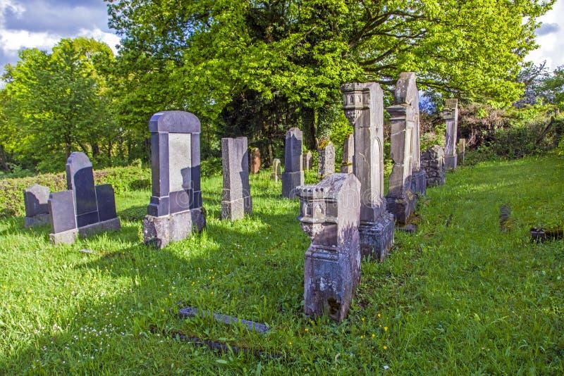 Cementerio judío en St. Wendel imagenes de archivo