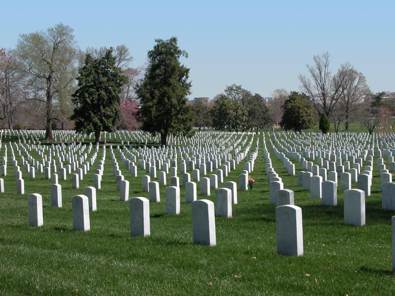 Cementerio nacional de Arlington imágenes de archivo libres de regalías