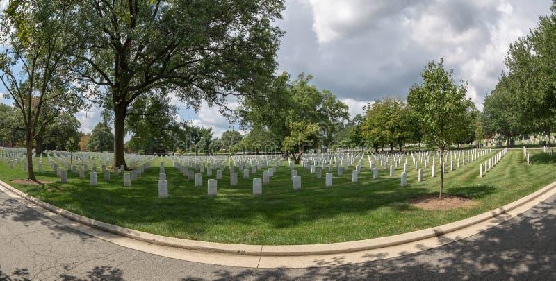 Cementerio nacional de Arlington, los E.E.U.U. fotografía de archivo