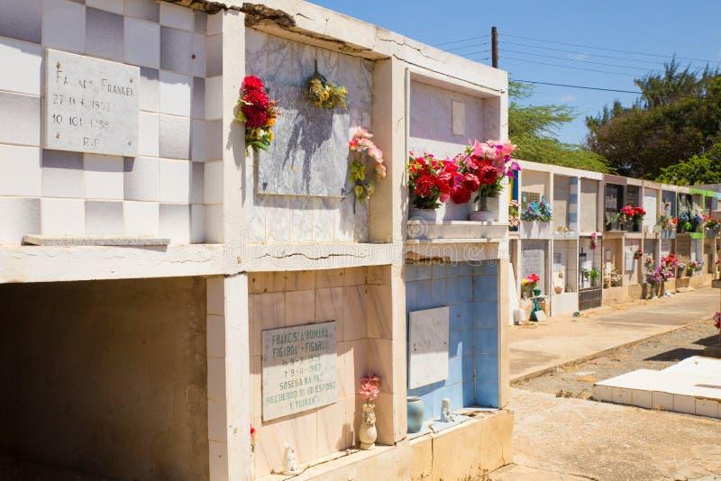 Cementerio Noord Aruba de la iglesia fotos de archivo libres de regalías