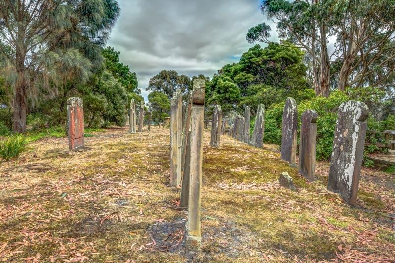 Cementerio viejo fotos de archivo