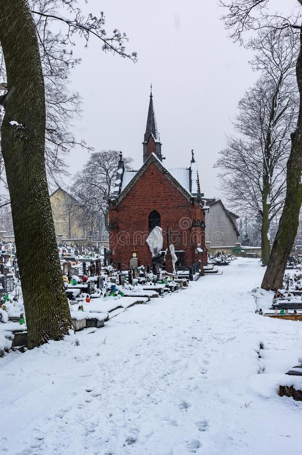 Cementery στοκ εικόνες