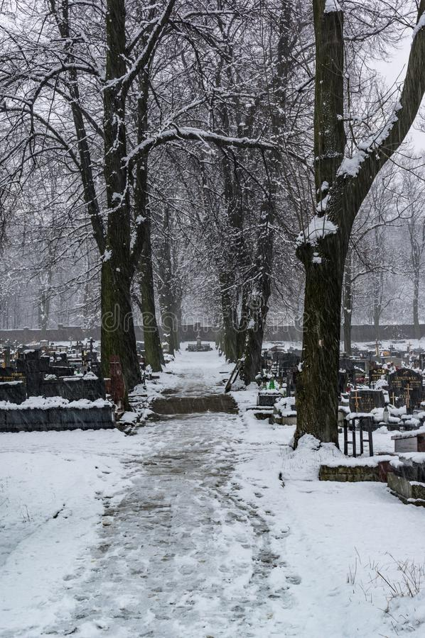 Cementery στοκ φωτογραφία