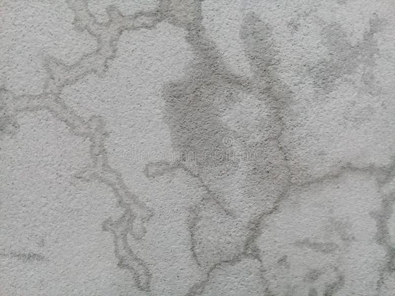 Cementi il fondo in bianco e nero della parete del pavimento di colore di vecchio iato fotografia stock
