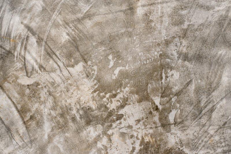 Cementi la parete di stile del sottotetto, fondo tonificato grigio di lerciume di struttura del muro di cemento immagine stock libera da diritti