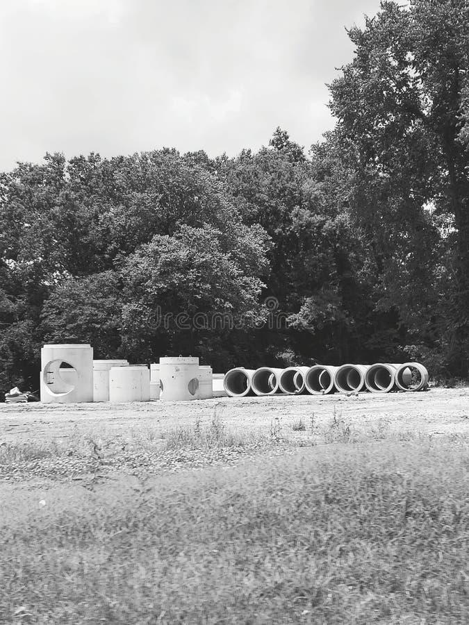 Cementkonstruktion arkivfoto