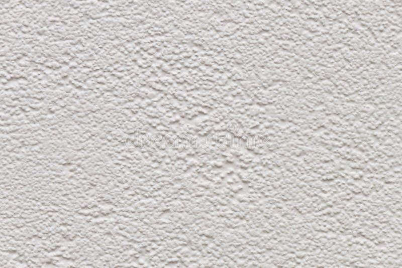 Cemento bianco e muro di cemento per fondo ed il modello immagine stock libera da diritti