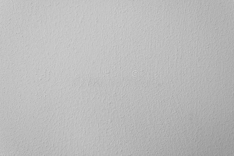 Cemento bianco e muro di cemento per il modello ed il fondo fotografia stock libera da diritti