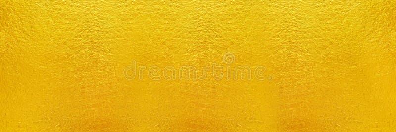 cemento horizontal del oro y textura concreta para el fondo y d foto de archivo