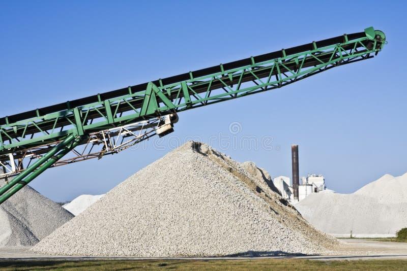 cementowa fabryczna praca obrazy royalty free