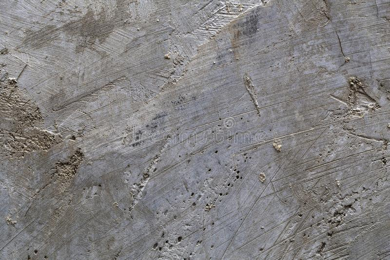 Cementowa tekstura z narysem zdjęcia stock