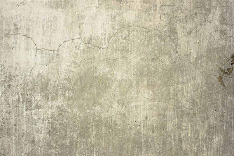 Cementowej betonowej ściany tekstury grunge brudny szorstki tło zdjęcie stock