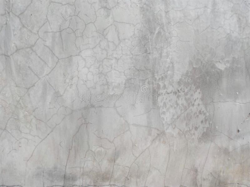 Cementowej starej tekstury biały kolor obraz royalty free