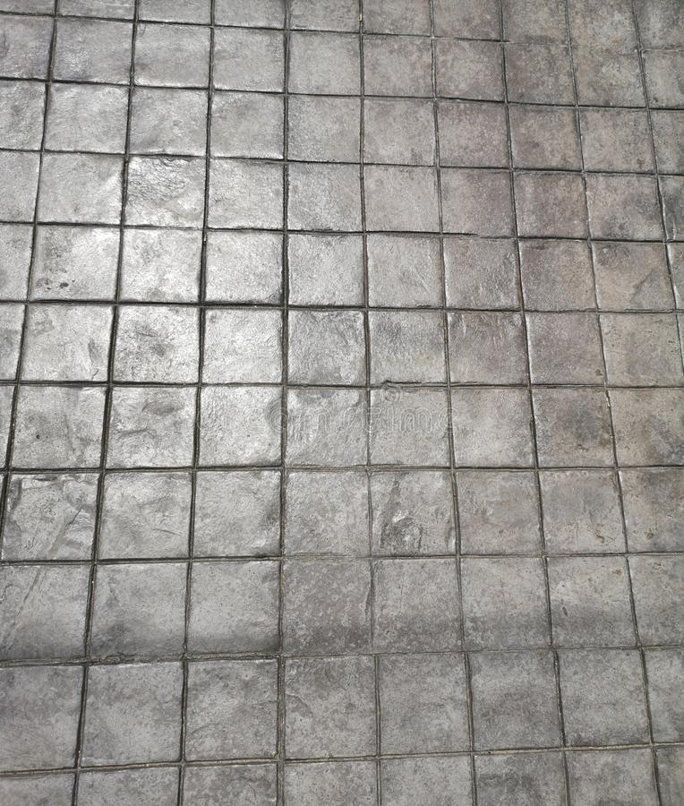 Cementowy blokowy czerń wzoru tekstury materiał zdjęcie royalty free