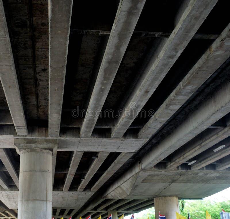Cementstrukturer och str?lar royaltyfri fotografi