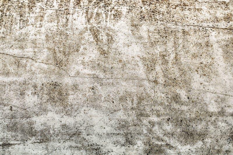Cementtextuur door de passage van tijd is verouderd die royalty-vrije stock afbeelding